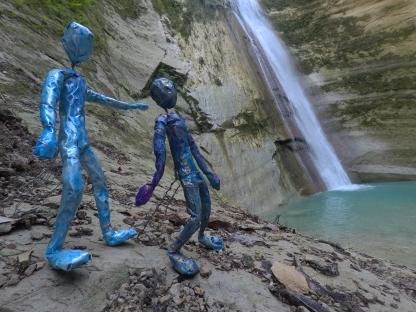 Lihangin & Lidagat go to Dao Waterfalls in Samboan, Cebu for November 2018 Full Moon