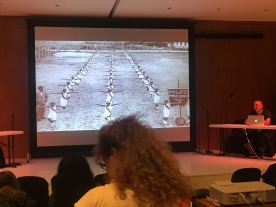 Carlos Celdran (Manila Biennale) reminiscing on imperial histories of public discipline