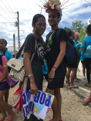 Joseph Villa (20 years old) & Jessie Dela Rosa (20 years old) - Choreographers of Poblacion Ibabao